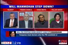 Will Manmohan Singh stepping down as PM benefit Congress in 2014?