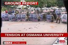 Telangana: Tension prevails at Osmania University as students clash with police