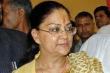 Vasundhara Raje sworn in as Chief Minister of Rajasthan