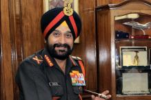 General Bikram Singh takes over as new CoSC