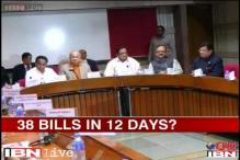 Winter session from today; UPA hopes to push pending bills