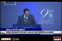 India has its way at WTO, demand for no cap on food subsidy accepted