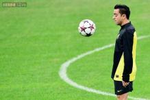 Xavi Hernandez to miss Barcelona's Copa del Rey match