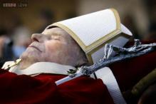 Thieves steal Pope John Paul's blood from Italy church