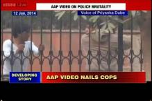 AAP shares 12-day old Youtube video of Delhi Police beating a man