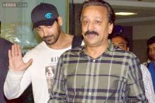 Snapshot: John Abraham returns to Mumbai; where is wife Priya?