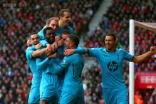 Adebayor scores two as Tottenham beat Swansea 3-1 in EPL