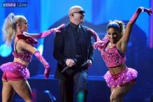 Pitbull collaborates with Katy Perry for remix song