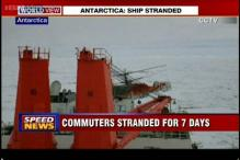 MV Akademik still stuck in Antartica, commuters to be airlifted
