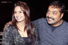 Snapshot: Anurag Kashyap spotted with Huma Qureshi at the screening of 'American Hustle'