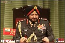 Indian Army tries to control situation, not escalate it: Bikram Singh