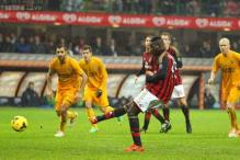 Late Mario Balotelli penalty gives Seedorf winning AC Milan start