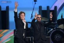 Grammy Awards 2014: Former Beatles members Paul McCartney, Ringo Starr perform together