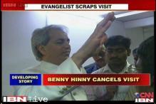 Evangelist Benny Hinn cancels Bangalore visit after protests