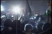 Rahul Gandhi shown black flags in his Lok Sabha constituency Amethi
