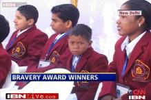 Winners of National Bravery Award 2013 felicitated