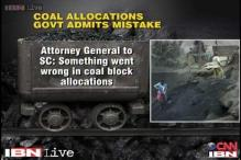 Something went wrong in coal blocks allocation case: Centre to SC
