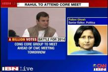 Congress core group meets today, Rahul Gandhi to attend