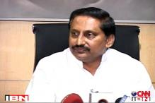 Kiran Reddy seeks deadline extension to discuss Telangana Bill