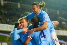 Manchester City rout Tottenham 5-1, move top of Premier League