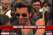 e-Lounge: Hrithik resumes work post separation with Sussanne