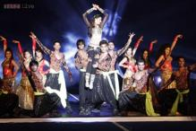 Snapshot: Nargis Fakhri performs at HIL opening ceremony