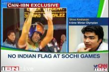No Indian flag at Sochi Games