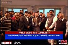 Rahul urges PM to grant minority status to Jain community