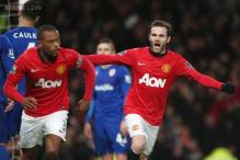 Juan Mata helps Manchester United to 2-0 win over Cardiff City