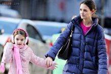 Girls' day out for Katie Holmes and daughter Suri