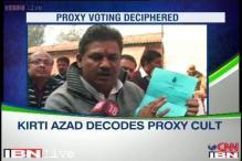 Kirti Azad decodes proxy cult