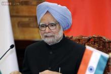 Watch: Manmohan Singh addresses media