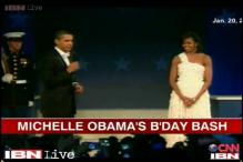 Watch: Michelle Obama's 50th birthday a star studded party