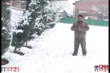 Srinagar continues to freeze, Jammu-Srinagar highway closed again