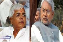 Nitish Kumar and Lalu Prasad share dais, take jibes at each other