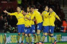 Arsenal held 2-2 by Southampton in Premier League