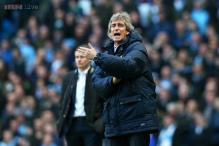 Manchester City still improving after reaching 100 goals: Pellegrini
