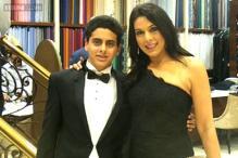 Snapshot: Pooja Bedi attends singer Raageshwari Loomba's sangeet ceremony with son Omar