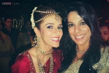 Snapshot: Pooja Bedi attends singer Raageshwari Loomba's wedding