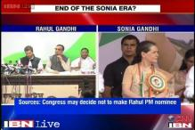 Rahul may not be named PM nominee yet, but may be given Sonia's role