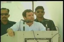 Target to upgrade 70 crore people to middle class, says Rahul Gandhi
