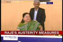 Vasundhara Raje's austerity measures to give competition to AAP govt
