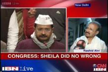 CWG scam: Sheila Dikshit has done no wrong, Cong to Kejriwal