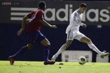 Cristiano Ronaldo on target as Real advance in King's Cup