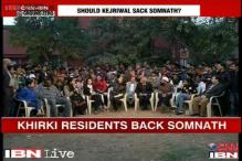 Watch: Khirki Extension residents defend Somnath Bharti raid