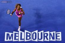 Serena Williams advances to 2nd round in Melbourne