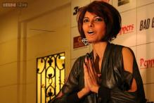 Sherlyn Chopra seen with chic new haircut and nails the size of talons