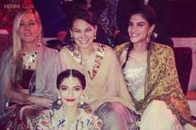 Snapshot: Sonam Kapoor looks effortlessly stylish at cousin's wedding