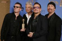 Golden Globe Awards: U2  wins best original song for 'Mandela....'