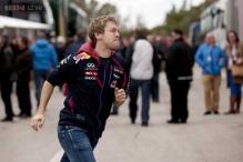 Sebastian Vettel has problems as Mercedes march on